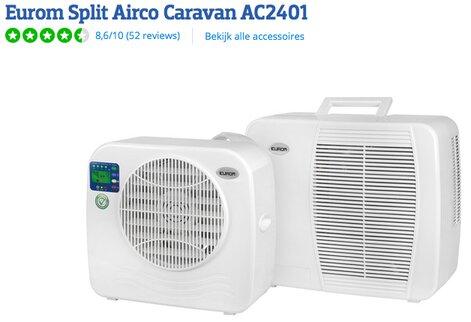 camper split airco
