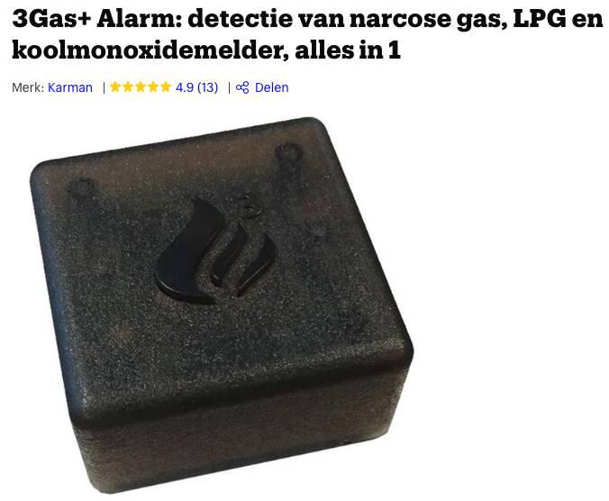 narcose alarm camper
