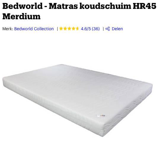 camper matras op maat
