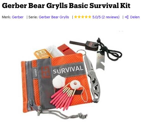 survival kit basic