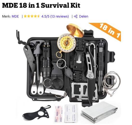 survival kit kopen