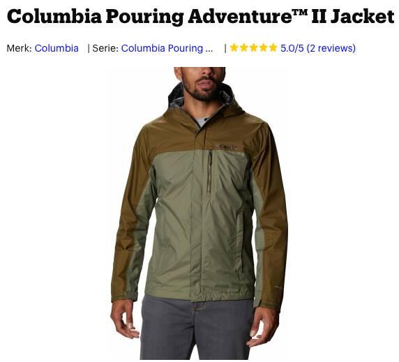 beste outdoor jas heren