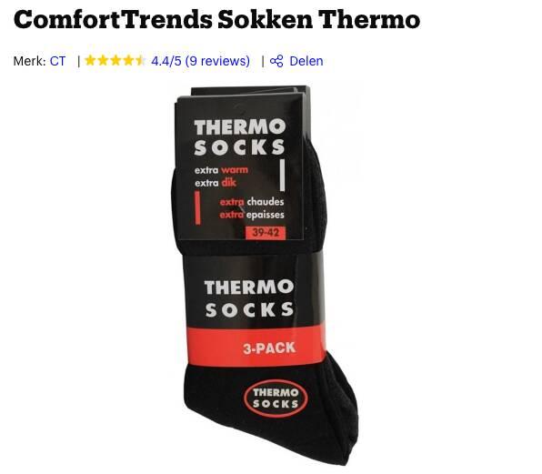 beste thermosokken test