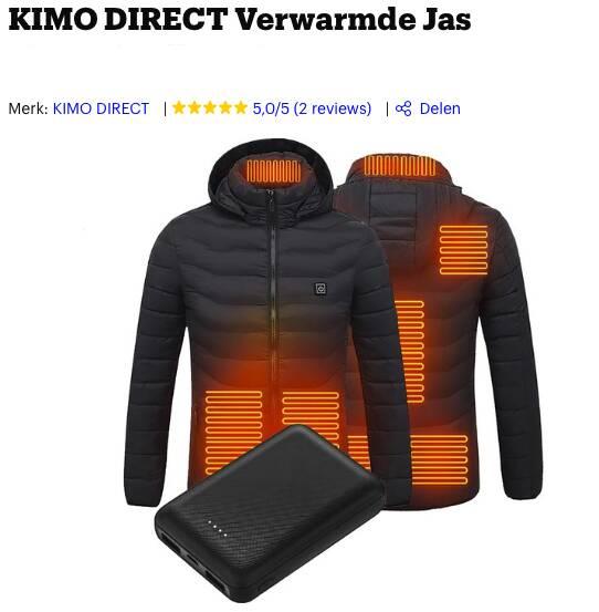 verwarmde jas kopen