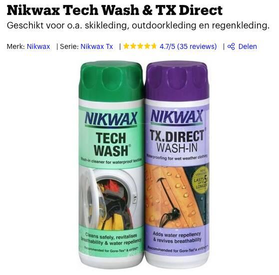 waterafstotende spray kopen