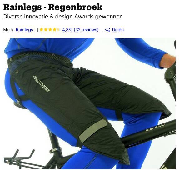 beste regenbroek fiets