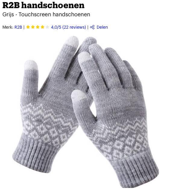 beste handschoenen winter